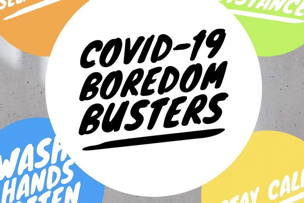 COVID-19 Boredome Busters – FIFO Focus