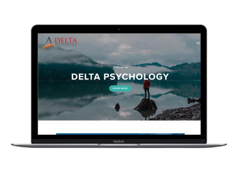 Delta Psychology website