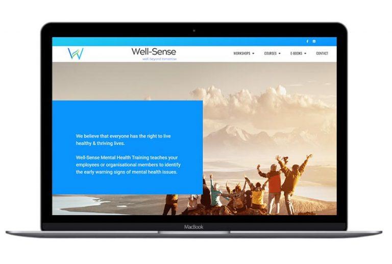 Well Sense website